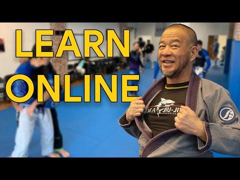 Learning Jiu-Jitsu Online...Better Than Live Training?❓
