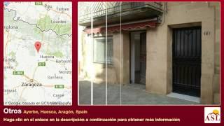 preview picture of video 'Otros se Vende en Ayerbe, Huesca, Aragón, Spain'