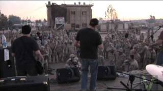 The Vandals Play For U.S. Troops in Iraq. (Sadr City)- Nice Army Moshpit