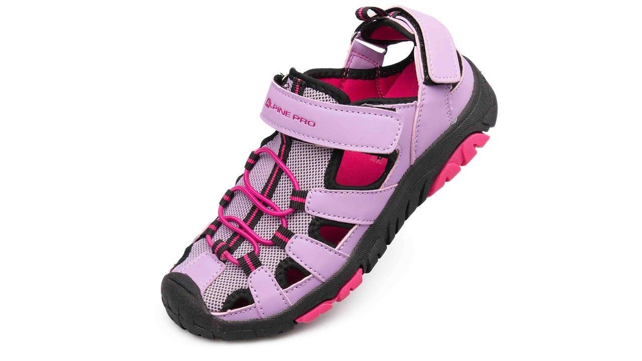 Komfortní dětské sandály Alpine Pro Dislo jsou kvalitním modelem dětské  letní obuvi fe3a2910397