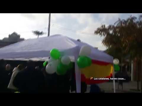 """Vox planta su carpa en """"Sant Viçens dels Horts"""" pueblo del político golpista Oriol Junqueras"""