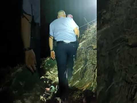 משפחה חרדית נקלעו למצוקה בנחל באזור מודיעין עילית • צפו בחילוץ