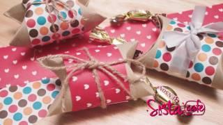 Sistacafe Diy | วิธีห่อของขวัญด้วยแกนทิชชู่