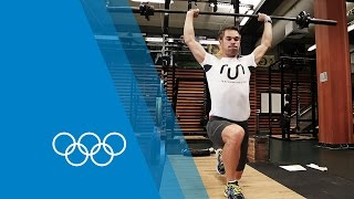 800m Pre-Season Training with Nick Symmonds | The Making of an Olympian