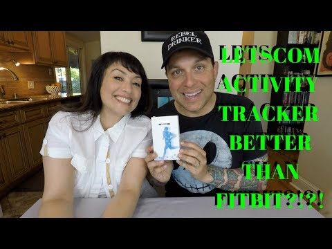 LETSCOM ACTIVITY TRACKER BETTER THAN FITBIT?!?!