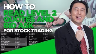 How to Read Level 2 Quotes & Bid Ask for Stock Trading by Adam Khoo