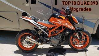 Top 10 Duke 390 Upgrades