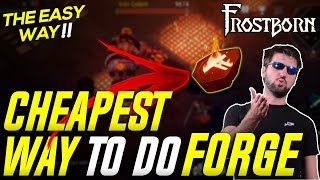 Cheapest Way to do Odin's Forge! Hardest Challenge in Frostborn! - JCF