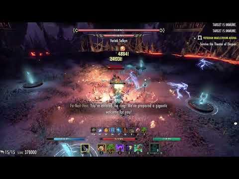 ESO vMA Magicka Warden 601k Murkmire - Xbox One