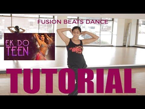 Ek Do Teen (Baaghi 2) | Bollywood Dance Tutorial | Jacqueline Fernandez | Madhuri |  Fusion Beats