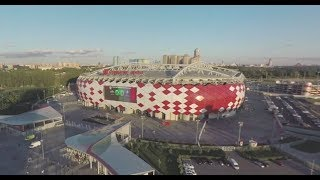 2018 FIFA World Cup: Spartak Stadium in Moscow (360 VIDEO)
