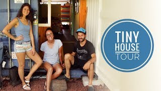 Off Grid TINY HOUSE TOUR ☼ Shipping Container In Hawaii