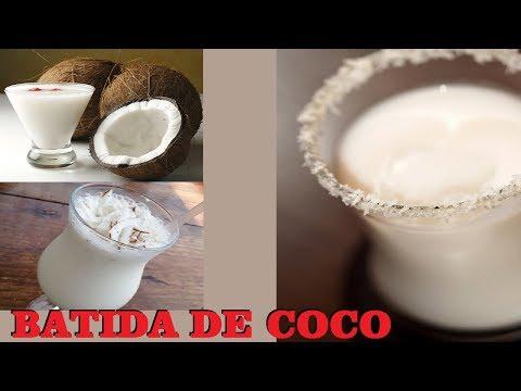 BATIDA DE COCO | Preto na Cozinha