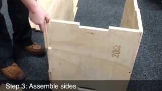 CFF Large Cube Plyo Box Assembly