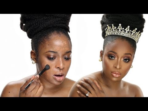BRIDAL/WEDDING MAKEUP TUTORIAL
