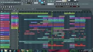Tom Odell - Another Love (Dimitri Vangelis  Wyman Remix) Instrumental in FL Studio