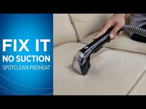 What to do if Your SpotClean has Low Suction Power