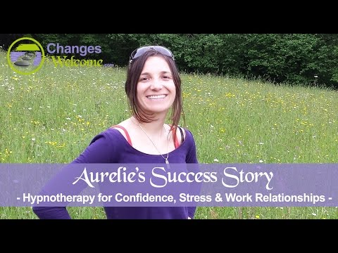 Aurelie's Success Story - Confidence, Stress & Relationships at Work