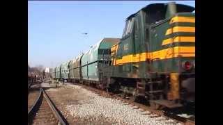 preview picture of video 'PFT-TSP, 22/03/2003 voyage d'adieu aux locos SNCB série 80, parcours de Quenast à Schaerbeek (DV)'