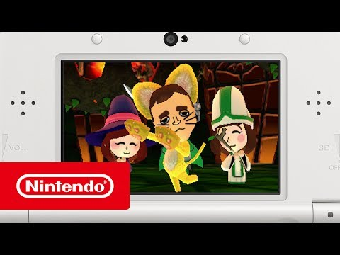 Miitopia - Adventure awaits your Tomodachi Life friends! (Nintendo 3DS) thumbnail