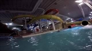 Wisconsin Dells Kalahari Indoor Waterpark Waterslides