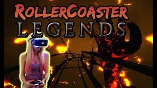 💜I try 💜 RollerCoaster Legends PSVR (PS4 VR) Full Game