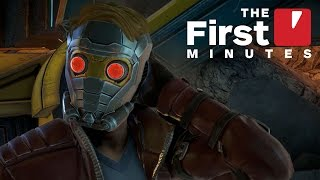 The First 15 Minutes of Guardians of the Galaxy: The Telltale Series