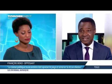 François Boko de retour au Togo