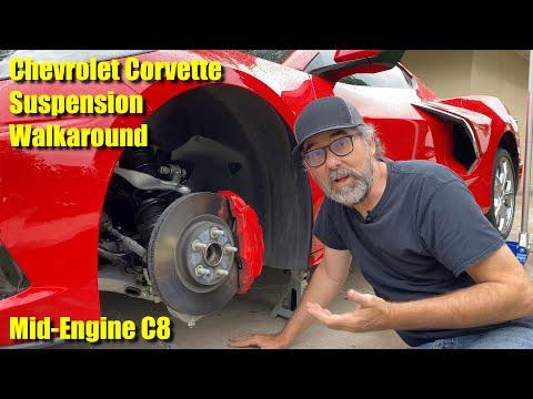 2020 Chevrolet Corvette Suspension Walkaround - An Exclusive Look At The C8 Mid-Engine Corvette