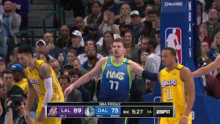 Luka Doncic (25 Points) Highlights vs. LA Lakers
