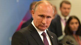 Владимир Путин слушает отчеты Аксёнова и Овсянникова об итогах развития Крыма и Севастополя