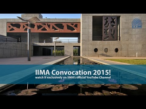 Director's Address, IIMA's 50th Convocation, March 2015