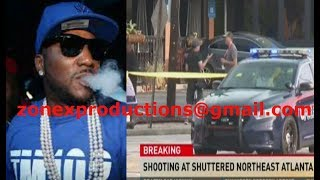 Young Jeezy SHOT 5 times in East Atlanta,after bein WARNED by bloods not to perform!