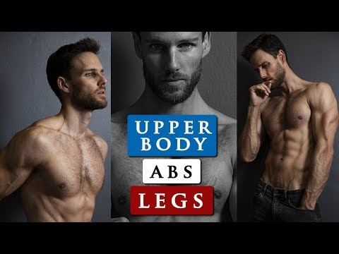 MALE MODEL WORKOUT ROUTINE   How to get a body like a male ...