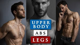 MALE MODEL WORKOUT ROUTINE   How To Get A Body Like A Male Model