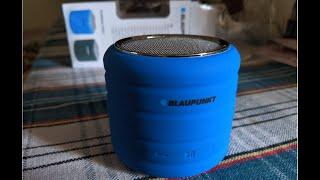 Blaupunkt BT-01 Portable Bluetooth Speaker Review & Sound Test