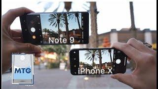 Note 9 vs iPhone X: In-Depth Camera Test Comparison