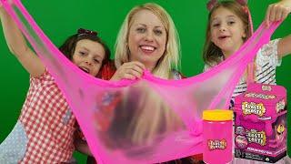 Sofie Melody och Chanell testar Elasti Plasti Slime Fail?