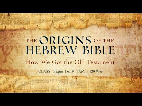 The Old Testament Manuscripts | Origins of the Hebrew Bible | Jeff Gordon