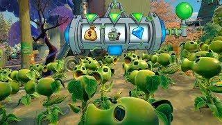 999 GUISANTES VS ZOMBISTEIN MECH | Plants Vs Zombies: Garden Warfare 2