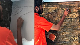 Wood  Grains In The Texture||Exterior And Interior||ultima Torino Asian Paints