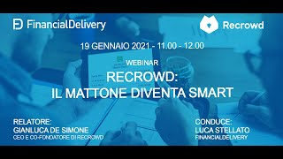 Recrowd: il mattone diventa smart