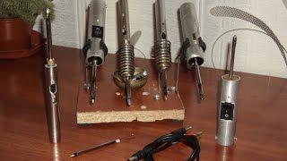 Как сделать мини паяльник в домашних условиях из подручных материалов.