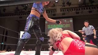 Rachael Ellering & Scarlett Bordeaux v Momo Watanabe & AZM 2017-12-24 Highlights