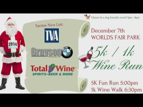 Tennessee Valley Coalition for the homeless hosts Wine Run 5k