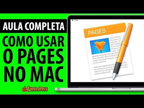 Como Usar o Pages no Mac - Aula Completa!