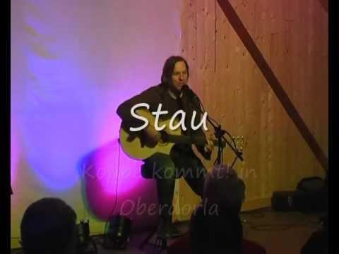 Stau - lustiges Lied zum Mitsingen von Liedermacher Thomas Koppe live in Oberdorla