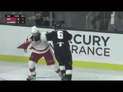 Jake Muzzin vs. Nick Jensen