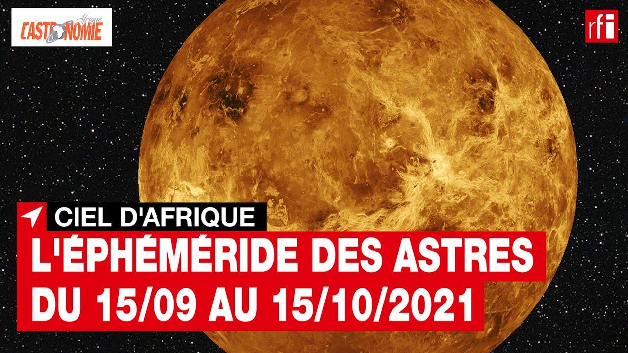 Ciel d'Afrique septembre-octobre 2021 • RFI