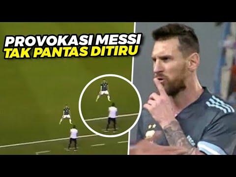 LAGI LAGI BERULAH‼️Tertangkap Kamera Sikap Lionel Messi Saat Ejek Pelatih Timnas Brazil Tadi Malam